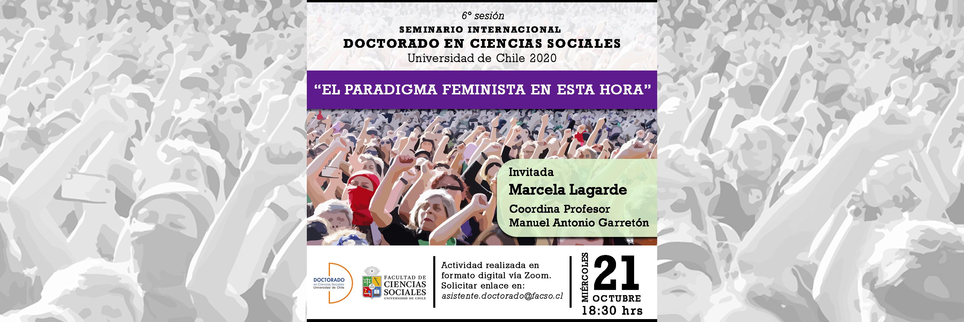 6ta sesión Seminario Internacional 2020