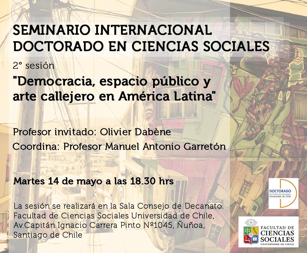 Seminario Internacional del Doctorado en Ciencias Sociales