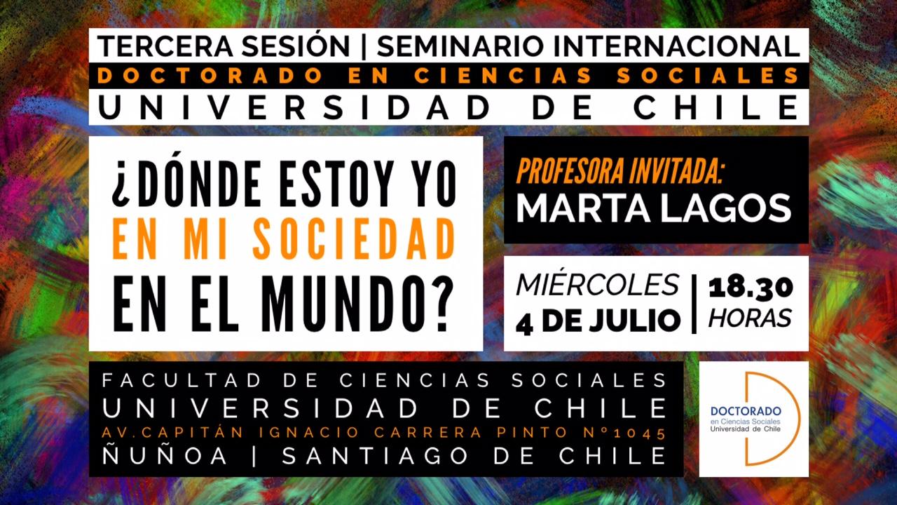 3era sesión del seminario internacional