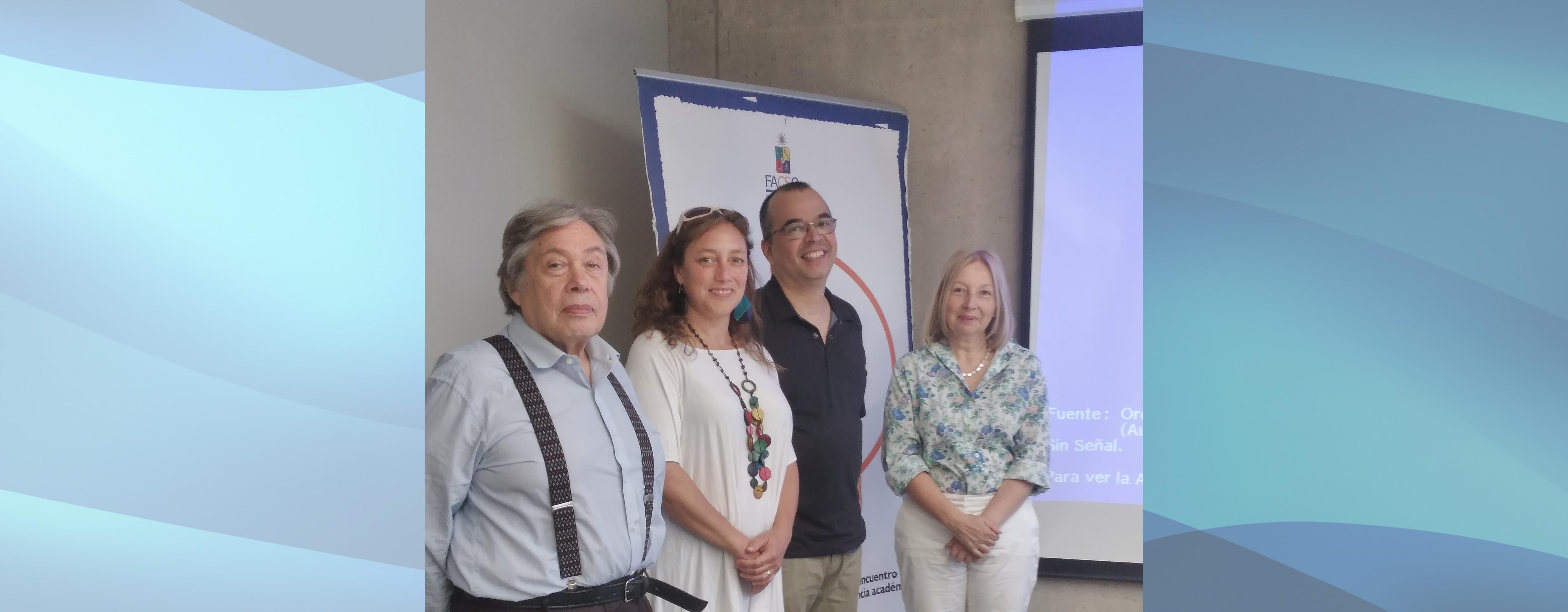 Nuevo graduado del Doctorado en Ciencias Sociales Universidad de Chile