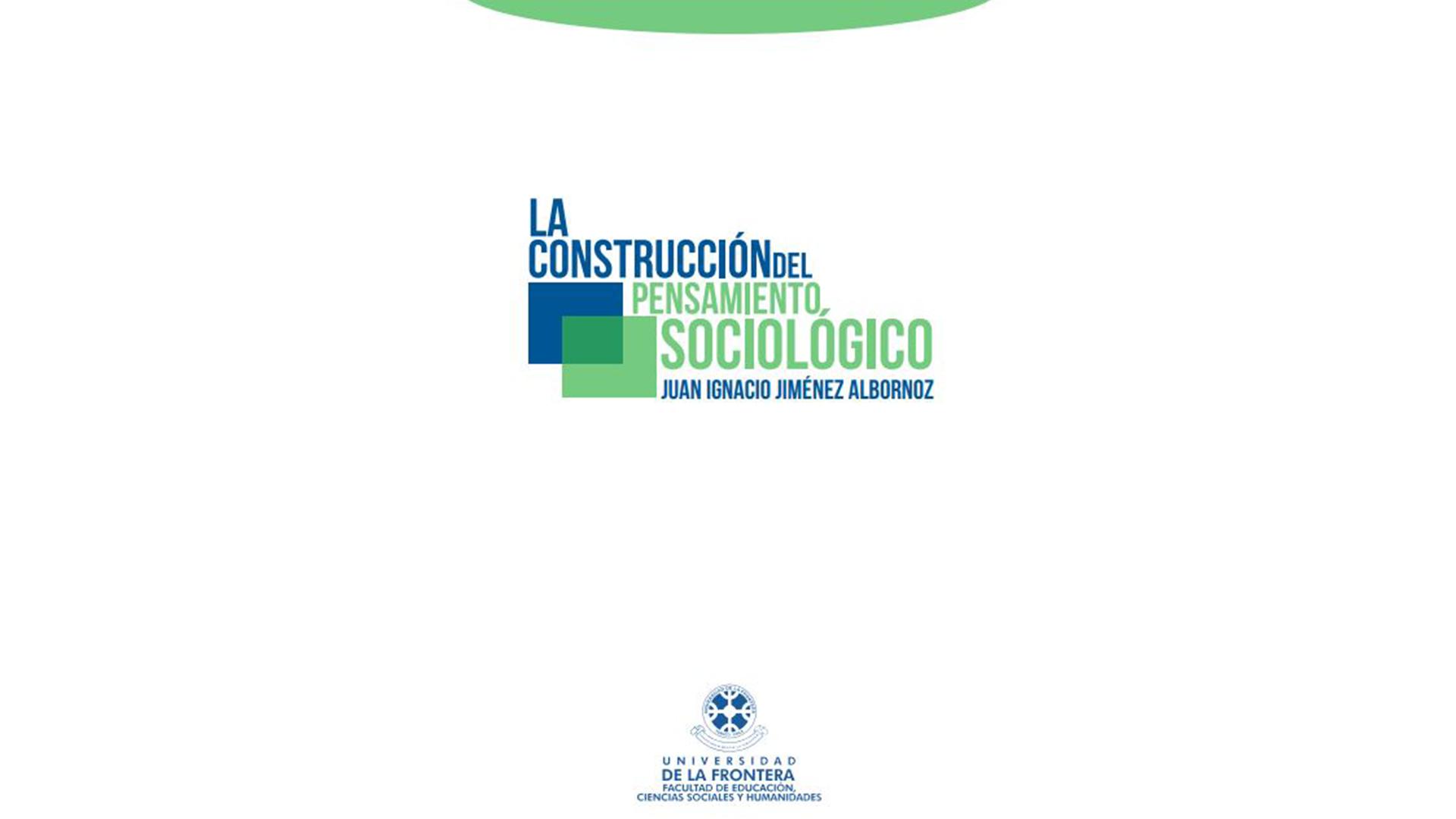 Juan Jiménez lanza libro sobre su tesis de Doctorado en Ciencias Sociales