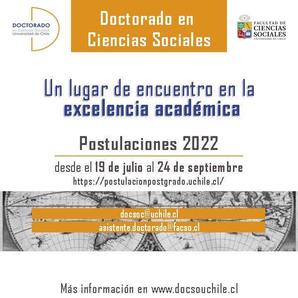 Inicio Postulaciones 2022